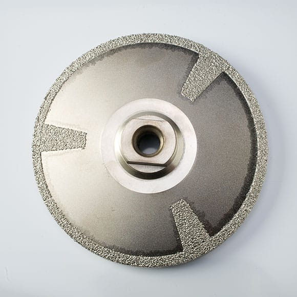 Vacuum Brazed Concave Disc