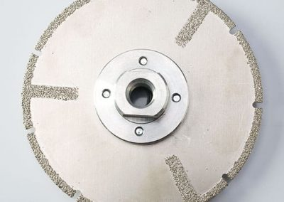 Vacuum Brazed Slotted Disc